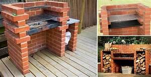 Simple, Diy, Brick, Bbq, Project, U2013, Diy, Cozy, Home