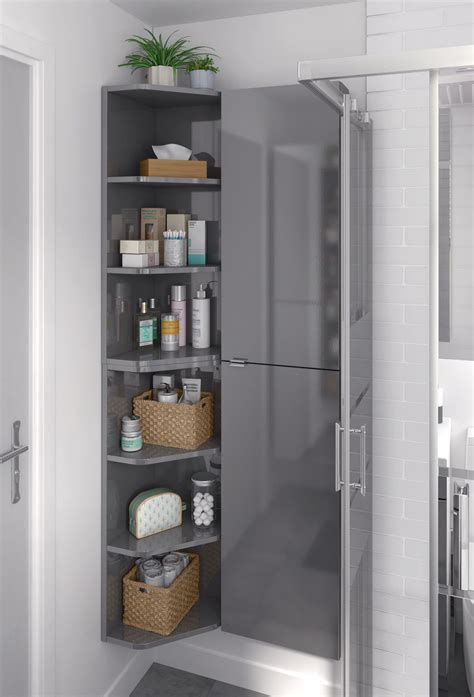 Design My Own Bathroom Free by Cooke Lewis Imandra Gloss Grey Wall Cabinet W 400mm