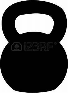 Black clipart kettlebell - Pencil and in color black ...