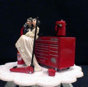 racing fannas car auto mechanic mac  tool box wedding