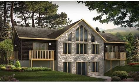 small house plans walkout basement home building plans