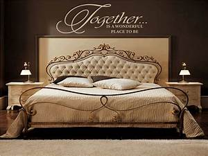Your romantic bedroom using master with
