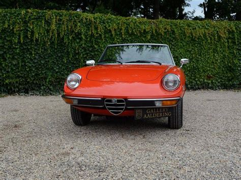 1978 Alfa Romeo Spider For Sale by 1978 Alfa Romeo Spider For Sale 2291235 Hemmings Motor News