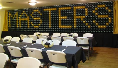 Hope these ideas being helpful for you. Party People Event Decorating Company: USF Graduation Party - Masters Wall of balloons