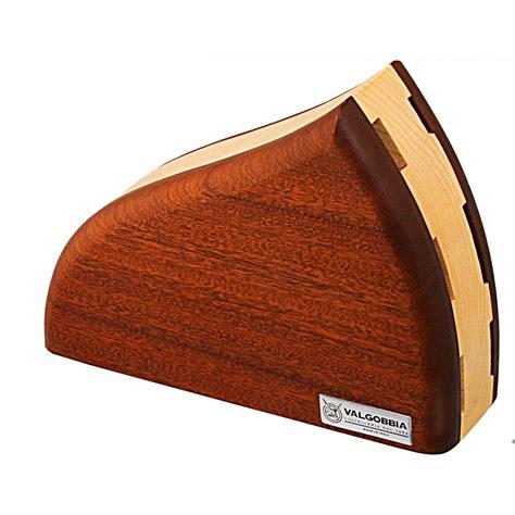 porta coltelli da cucina ceppo in legno con 6 coltelli forgiati da cucina 45x8xh30