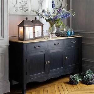 Buffet Bois Noir : pingl par agn s jammes sur commode pinterest gothique chic meuble buffet et refaire ~ Teatrodelosmanantiales.com Idées de Décoration