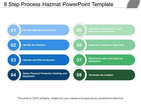 step process hazmat powerpoint template  images