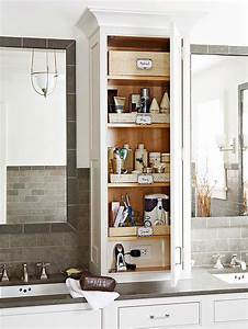 best 25 bathroom vanity storage ideas on pinterest With kitchen cabinets lowes with long vertical wall art