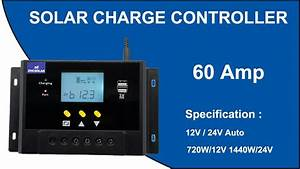 Solar Charge Controller 60 Amp Lms6024