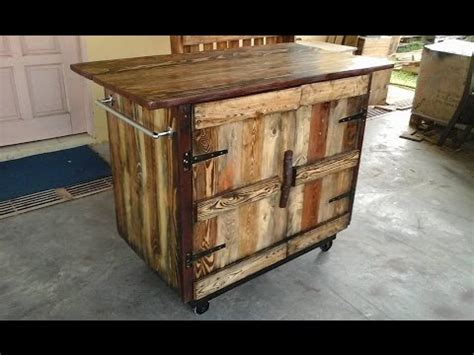kitchen island from pallets diy pallet kitchen island ideas 5071