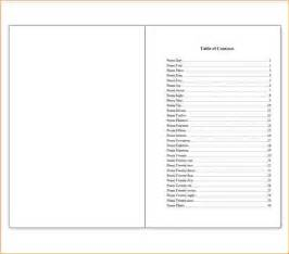 Book Outline Template Microsoft Word