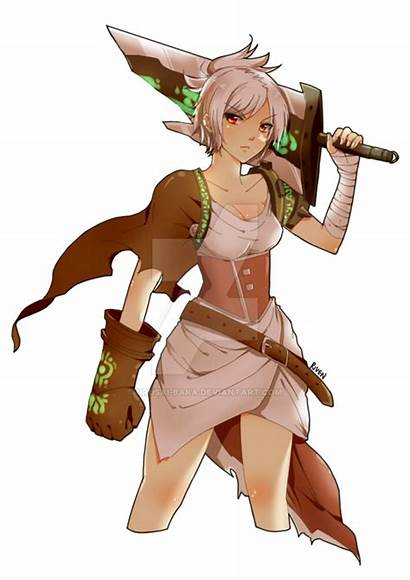 Riven Bunny League Urusai Baka Legends Deviantart