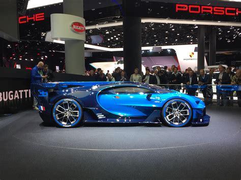 bugatti previews veyron successor  vision gt concept