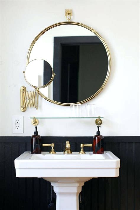 Circular Bathroom Mirrors by Top 15 Of Large Mirrors