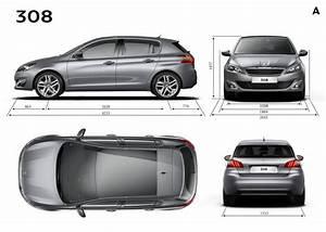 Dimensions 308 Peugeot : principales dimensions ext rieures mm peugeot 308 ii 2 144 photos peugeot f line ~ Medecine-chirurgie-esthetiques.com Avis de Voitures