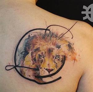 50 Lion Tattoos That Are 100 Percent Epic   Watercolor ...