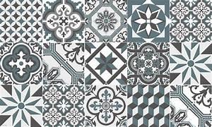 Vinyl Carreaux De Ciment : tapis vinyle carreaux de ciment collection ginette de ~ Melissatoandfro.com Idées de Décoration