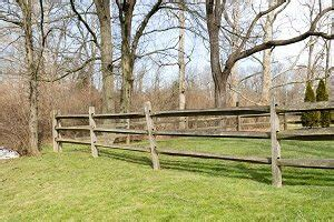 split rail fence costs post rail fencing prices