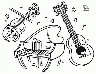 Coloring Instruments Musical Instrument Printable Recorder Extraordinary