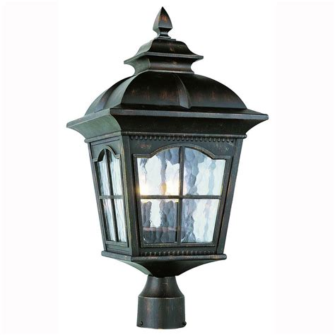 l post light fixtures bel air lighting bostonian 3 light outdoor antique rust