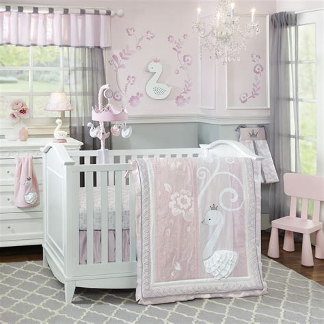 Crib Bedding Sets For by Swan Lake By Lambs Lambs