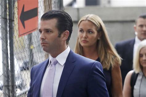 trump donald jr vanessa wife divorce children court dispute columbian arrive contested estranged split