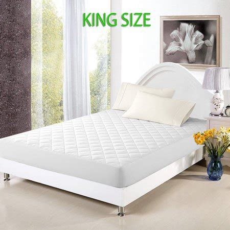 king size mattress cover walmart mattress cover bed topper bug dust mite waterproof pad