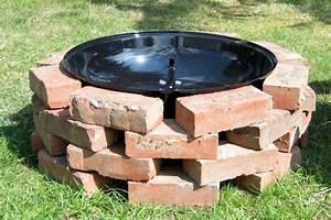 Brique Refractaire Pas Cher : 1001 id es fabriquer un barbecue 40 id es diy pour ~ Dallasstarsshop.com Idées de Décoration