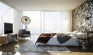 Modern bedroom design interior design ideas for Modern bedroom interior design