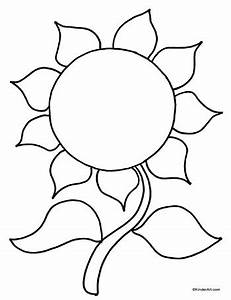 petal clipart sunflower outline pencil and in color petal clipart