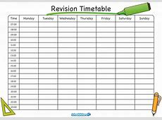 The School Stickers Revision Timetable is Here! learning