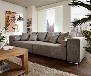 Big Sofa 250 Cm : couch marbeya hellgrau 290x110 cm mit schlaffunktion big sofa ~ Bigdaddyawards.com Haus und Dekorationen