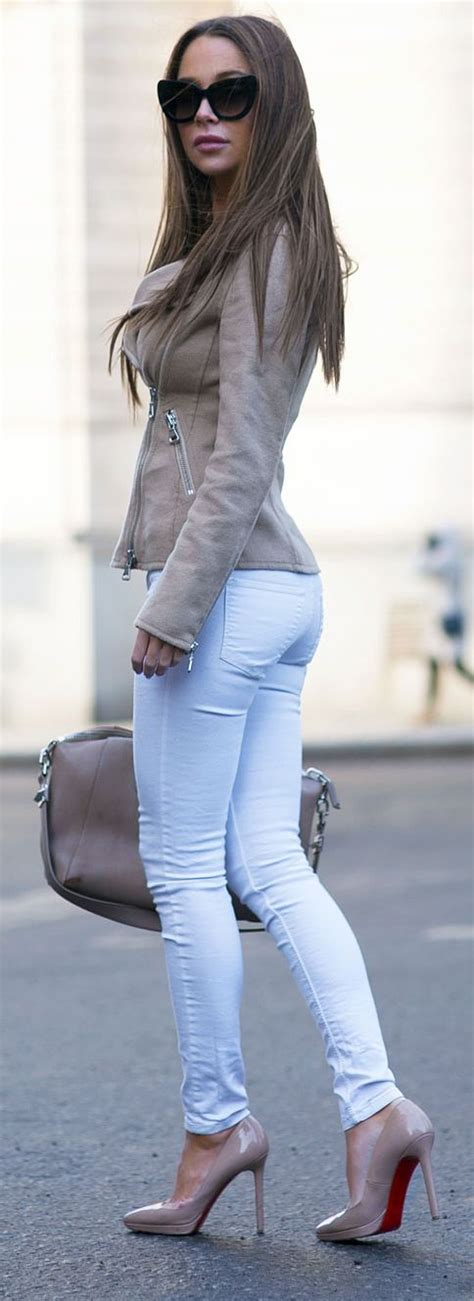 25+ best ideas about Skinny Jeans Heels on Pinterest | Red ...