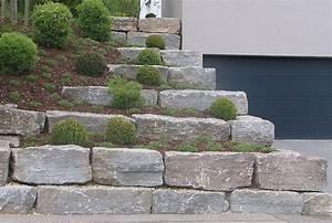 Gartenmauern Aus Naturstein : natursteinmauer aus muschelkalk garden pinterest ~ Sanjose-hotels-ca.com Haus und Dekorationen