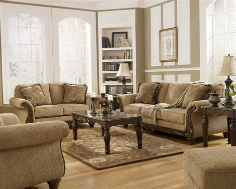 facts    ashley furniture living room sets