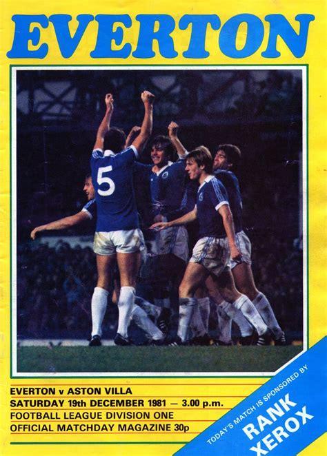 Pin on everton season 1981-82