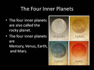 The Similarities Between Inner Planets - Pics about space