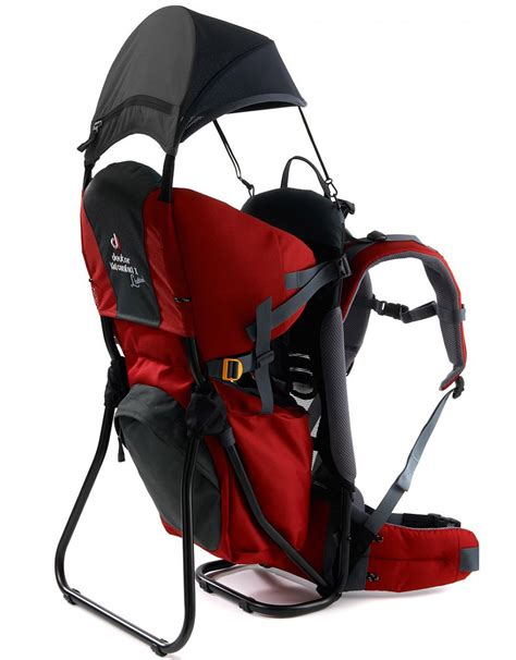 porte bebe deuter kid comfort 3 location mat 233 riel de rando en alsace vosges magazine rando trekking