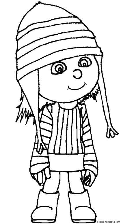 printable despicable  coloring pages  kids coolbkids