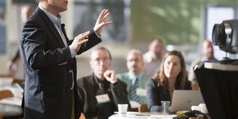 Brian Emmerson Delivering Presentation At Houston Machine