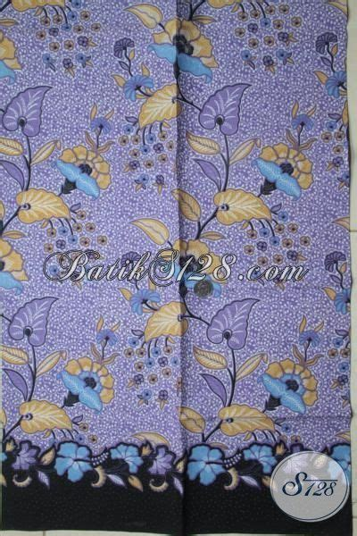 juragan kain batik asli solo sedia batik kain warna ungu