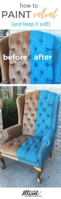 Diy Upholstery Fabric by Painting Upholstered Furniture On Upholstery
