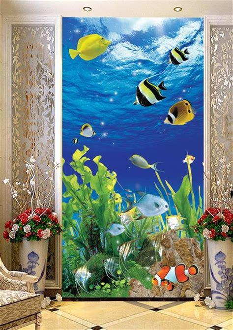 cuisine fileat work on aquarium muraljpg wikimedia mons aquarium mural design aquarium murals