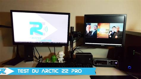 test ordinateur de bureau arctic z2 pro test support 233 cran pour