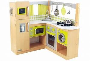 cuisine d39angle en bois jouet cuisine kidkraft bois With pour cuisine