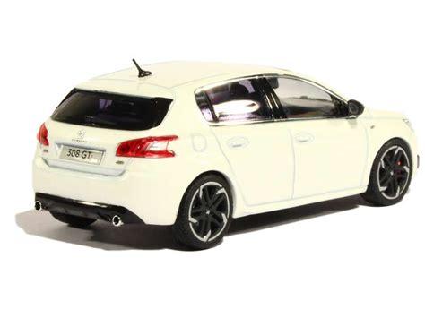 peugeot 308 gti white peugeot 308 gti 2015 norev 1 43 autos miniatures tacot