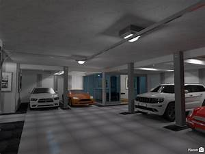 Basement Garage with Poker Room - Apartment ideas
