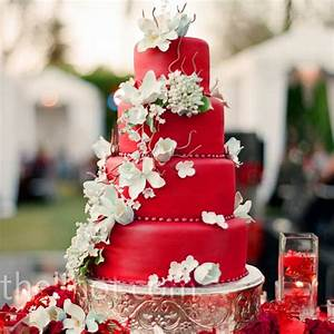 Southern Blue Celebrations Red Wedding Cake Inspirations