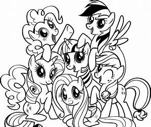 Coloring-Pages-My-Little-Pony - Coloring Kids