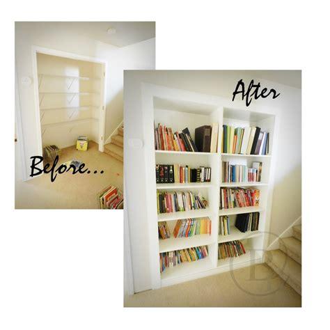 Closet Bookcase by 17 Best Images About Closet Bookshelf Ideas On